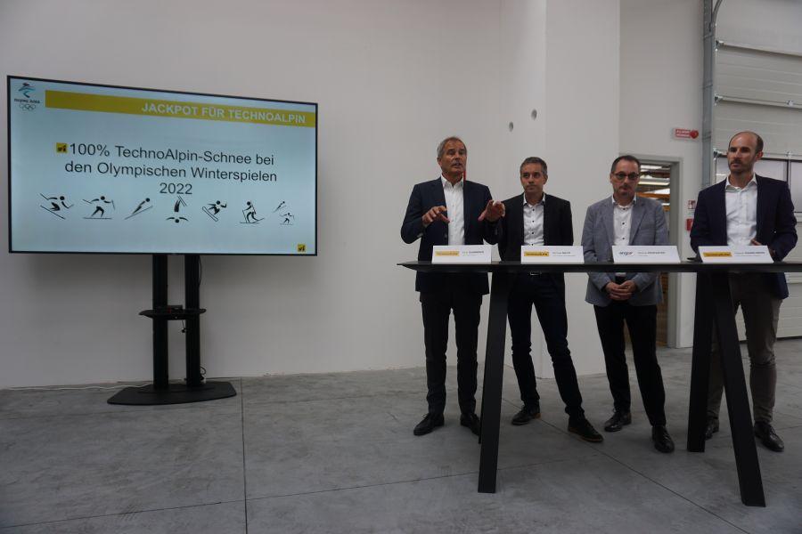 TechnoAlpin und Engo für die Olympischen Winterspiele 2022