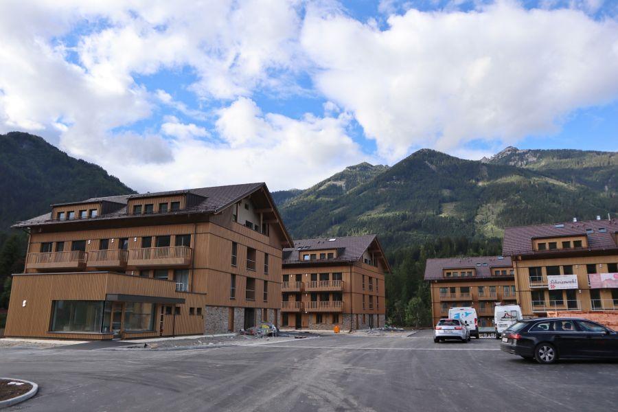 Hinterstoder: ALPRIMA Aparthotel in finaler Bauphase