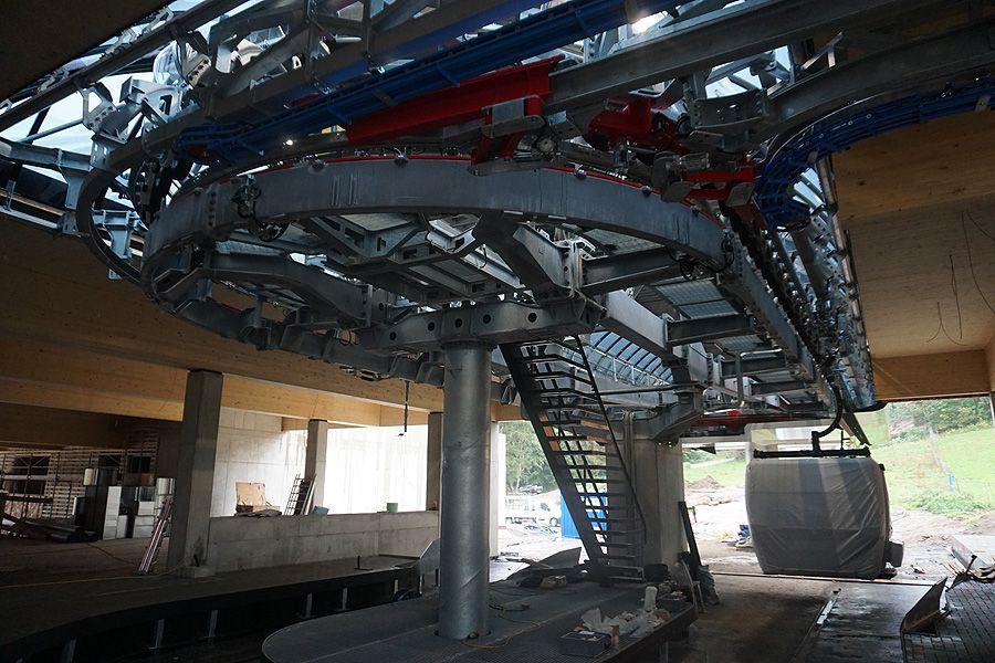 Kitzbühel: Stand der Bauarbeiten Fleckalmbahn