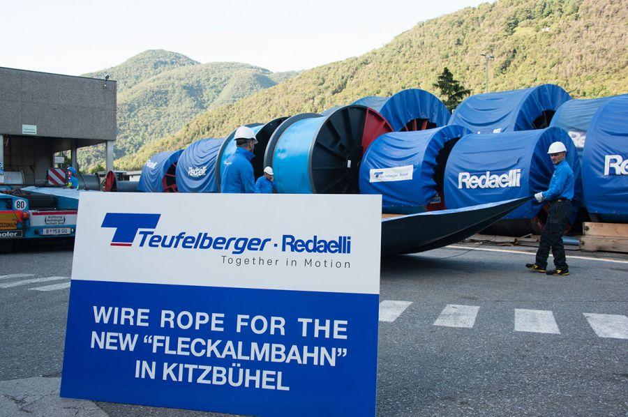 Teufelberger-Redaelli liefert Seil für neue Fleckalmbahn in Kitzbühel