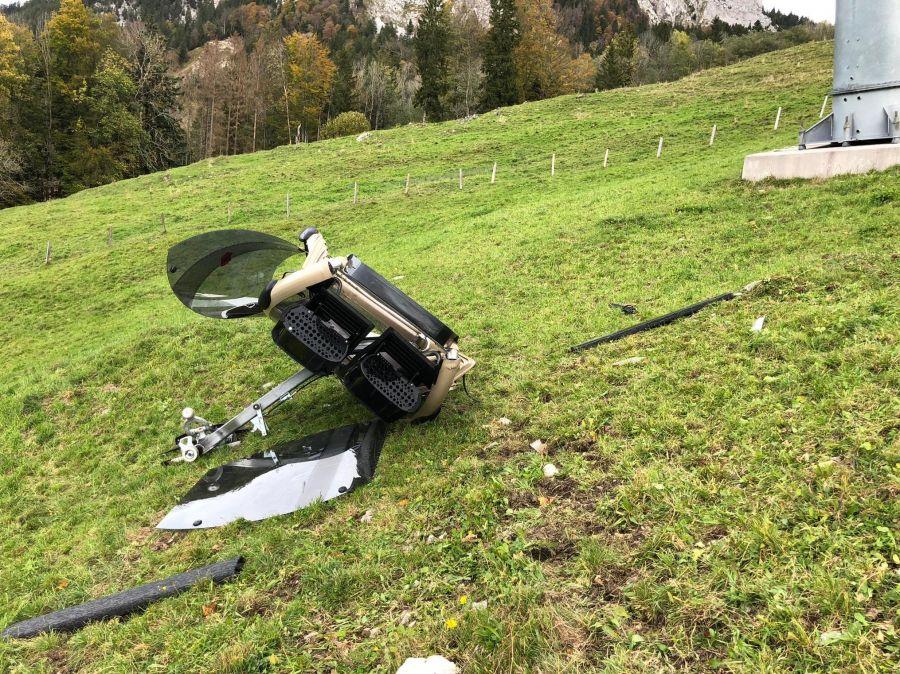 Rickenbach: Gondel der Rotenfluebahn abgestürzt