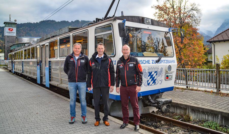 Bayerische Zugspitzbahn: Peter Huber im Ruhestand