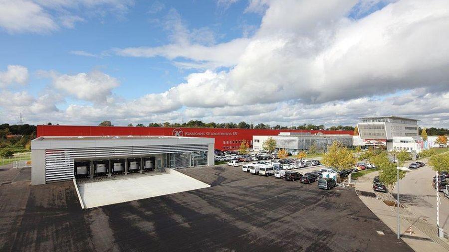 Kässbohrer: Neues Logistikcenter