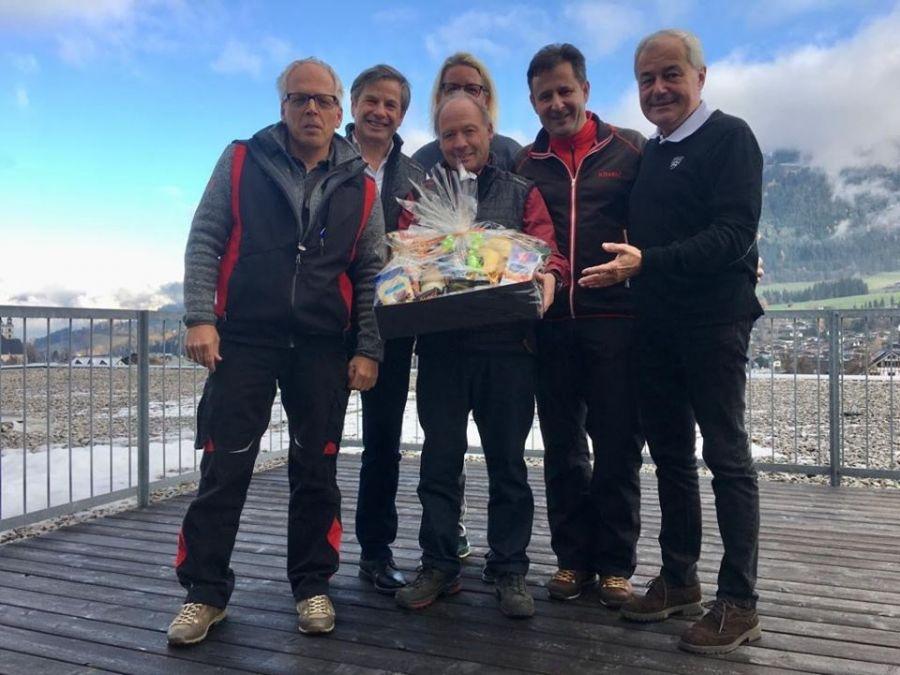 Bergbahn Kitzbühel: Walter Alstl – 40 jähriges Dienstjubiläum