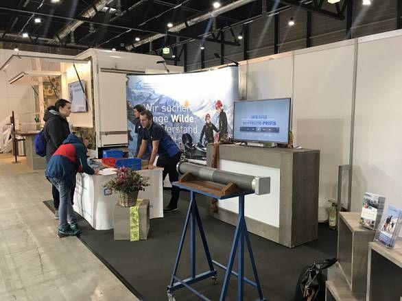 Ausbildungszentrum Meiringen: Erfolgreicher Auftritt an der ZEBI 2019