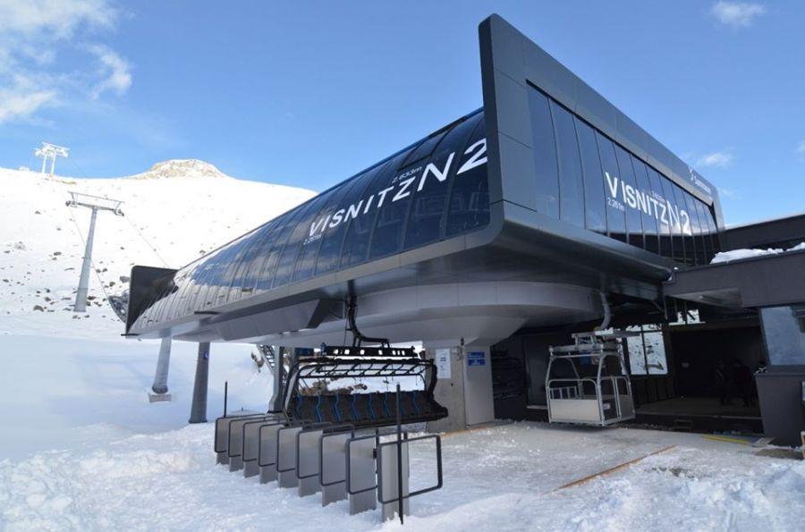In Samnaun fährt die erste 8er-D-Line Sesselbahn der Schweiz