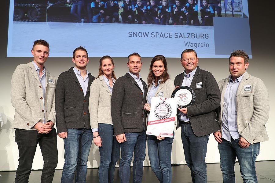 Snow Space Salzburg als bester Lehrbetrieb des Landes ausgezeichnet!