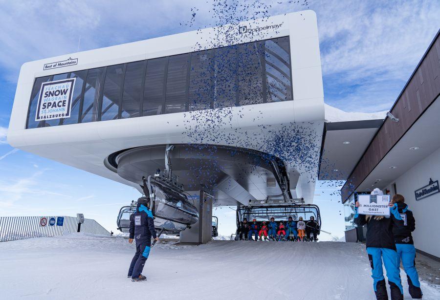 Snow Space Salzburg: Sonntagskogelbahn knackt die Millionen-Marke