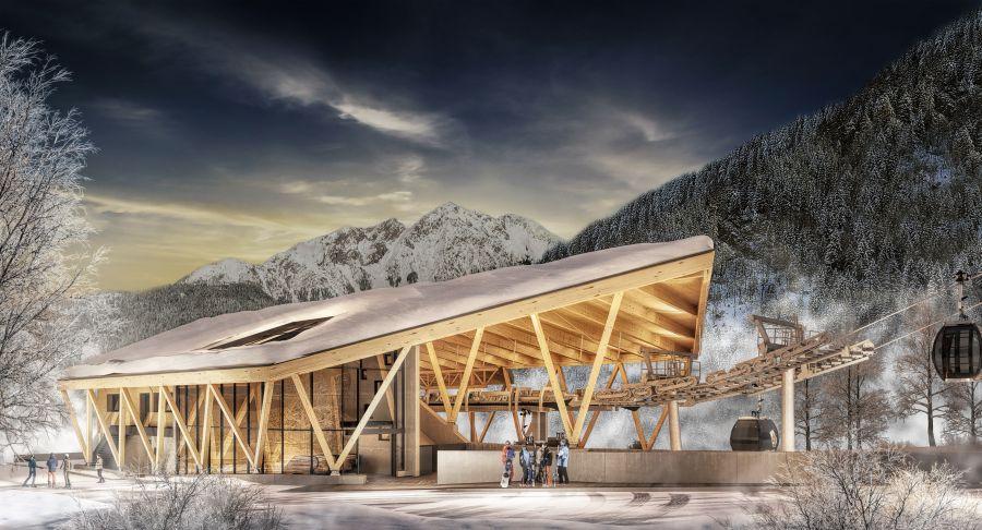 Bergbahnen Söll präsentieren erste Bilder der neuen 10er-Gondelbahn Hexenwasser
