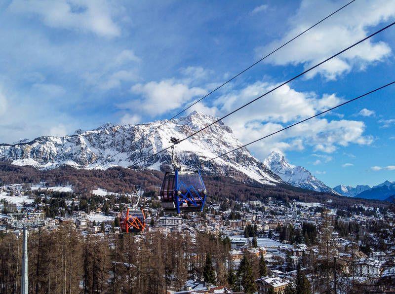 Leitner: Cortina feiert seine erste Kabinenbahn