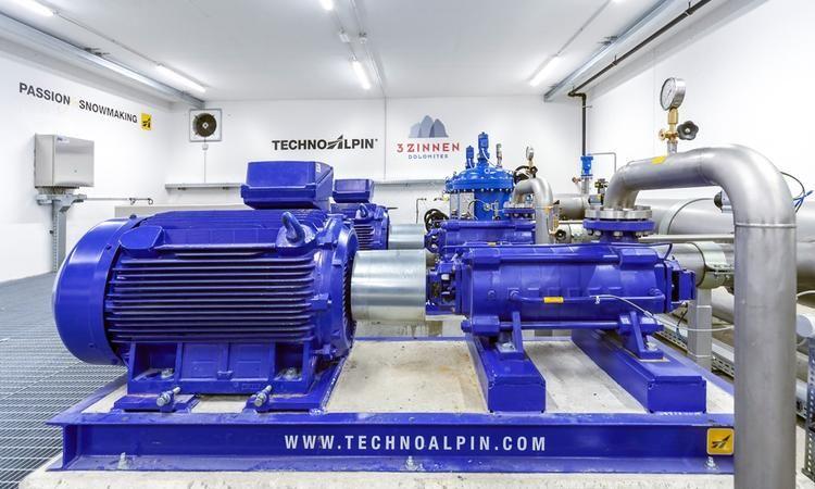 TechnoAlpin: Das Herzstück der Beschneiungsanlage! Um die bestmögliche Nutzung der verfügbaren Ressourcen zu gewährleisten und die Schneeproduktion unter allen Gegebenheiten zu maximieren, erfordern m