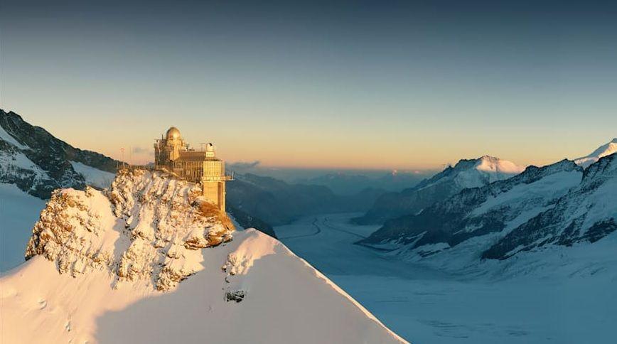 1,056 Millionen Gäste auf dem Jungfraujoch
