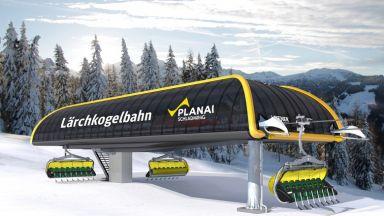 Schladming/Planei: Neue 8er-Sesselbahn Lärchkogel
